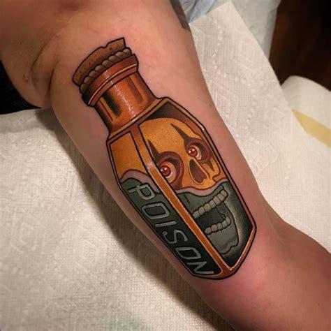 poison tattoo poison by davewahtattoos at stayhumbletattooco in