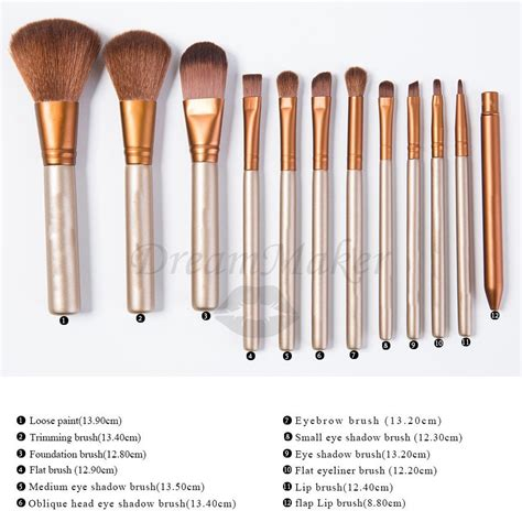 12pcs Professional Black Brushes Set 2015 new 12pcs professional portable makeup brushes high quality cosmetic brushes golden box