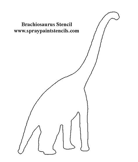free dinosaur stencils