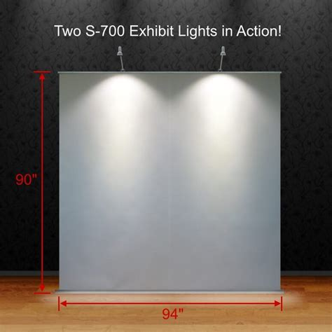 trade show display lights battery powered trade show exhibit lighting silicon