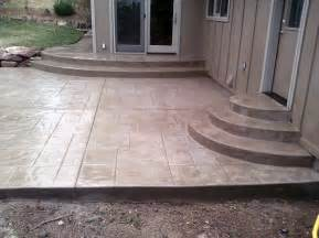 Design Concrete Patio Sted Concrete Patio Sted Concrete Is Known For Its Durability It Is Also Economical When