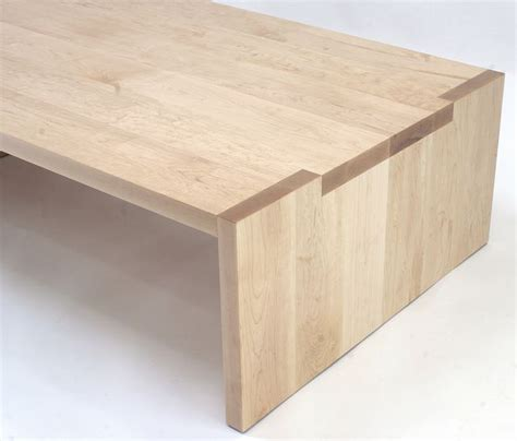 Handmade Furniture San Francisco - 547 img 1573e solid maple coffee table with notch