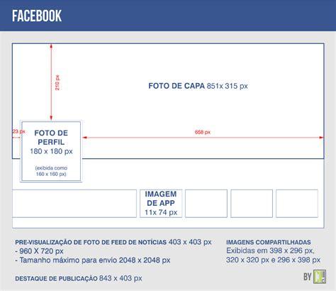tamanho layout facebook tamanho de imagens para facebook e outras redes sociais