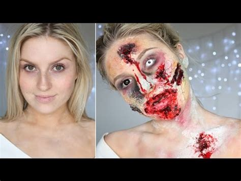 zombie sfx tutorial how to pre made rotting flesh open wounds zombie series