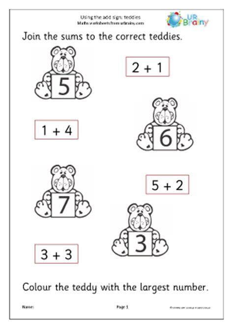 printable math worksheets reception addition worksheets for reception free printable mental