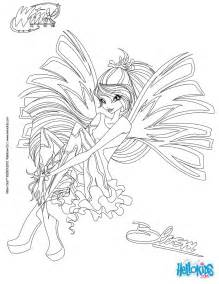 bloom transformation sirenix coloring pages hellokids