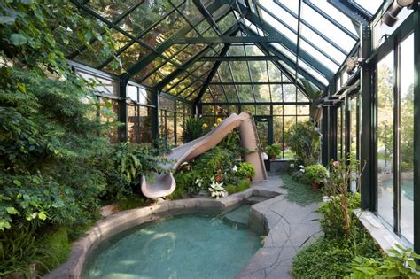 backyard green houses greenhouse pool cover 3 of 5 great images found here http blog bcgreenhouses com