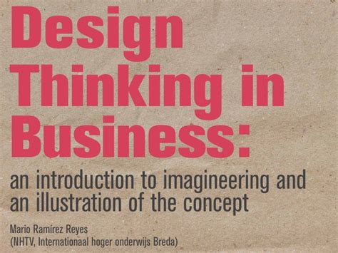 design thinking in business design thinking in business an introduction to