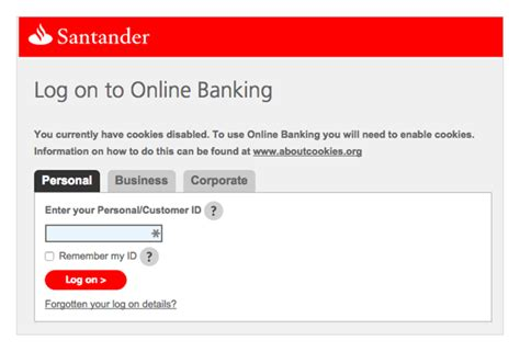 Related Keywords Suggestions For Santander Login