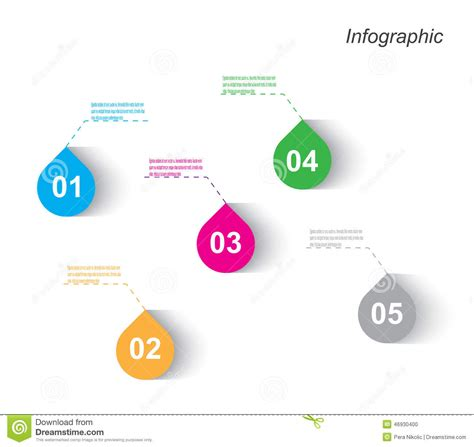 visual communication design ranking infographic design for product ranking stock vector