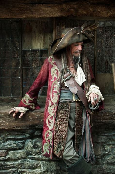 the pirates of the caribbean series keith richards in pirate costume for the quot pirates of the
