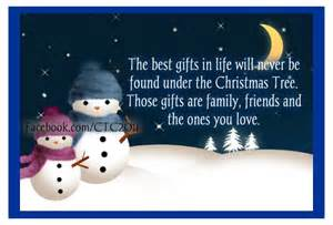 The best gifts in life will never be found under the christmas tree