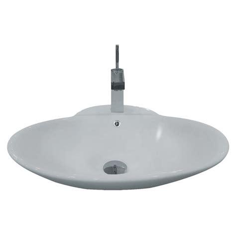 Bathroom Countertop For Vessel Sink Porcelain Ceramic Single Countertop Bathroom Vessel Sink 24 3 4 X 19 1 4 X 8 Inch