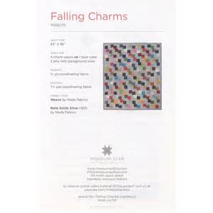 Falling charms pattern sku pat760 missouri star quilt co wholesale