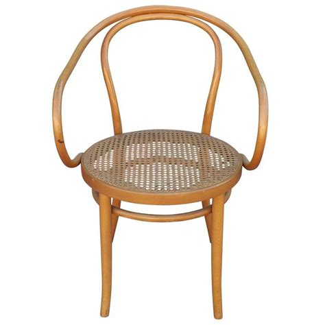 Thonet Dining Chairs Set Of Six Thonet 209 Bentwood And Dining Chairs At 1stdibs