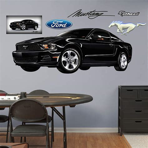 ford mustang home decor 2011 mustang wall decal shop fathead 174 for ford decor