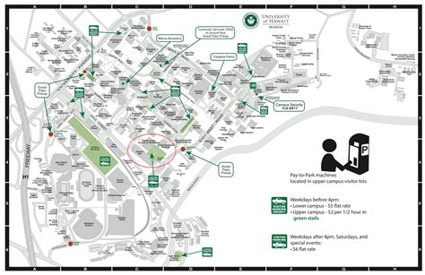 uh manoa map parking uh manoa cus map 2015 ike symposium