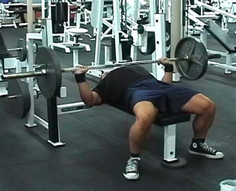 chest workout to increase bench exercise bench press