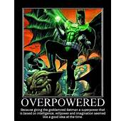 Batman Stands Atop A Gargoyle With Glowing Green Power Ring And