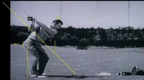 Ben Hogan Golf Swing Analysis On Vimeo