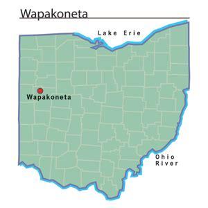 Auglaize County Records Wapakoneta Ohio Ohio History Central
