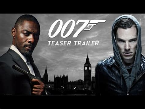 film james bond 2017 hd james bond 25 fan made trailer idris elba benedict