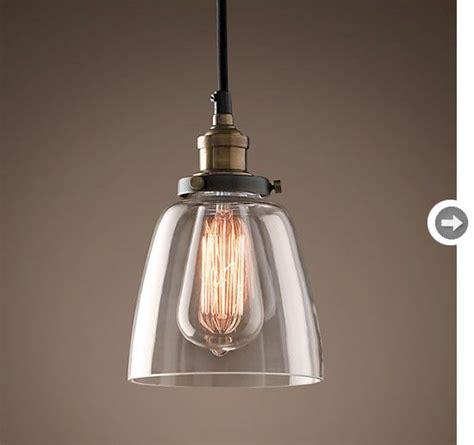 pendant lighting for kitchens vintage industrial pendant light restoration hardware