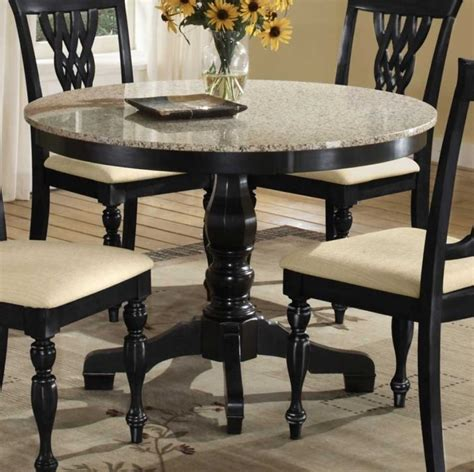 round granite dining table round granite kitchen table kitchen table gallery 2017