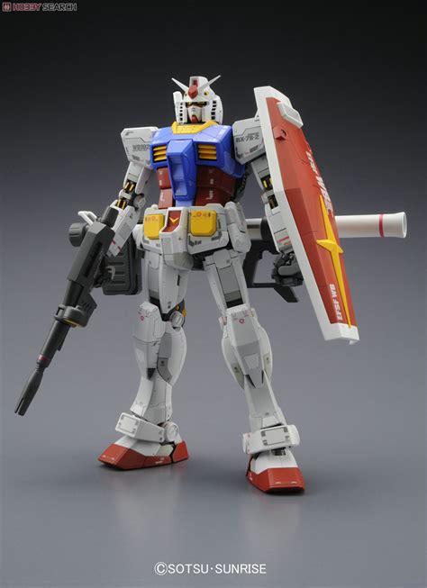 Bandai Mg Rx 78 2 Gundam Ver 3 0 Mechanical Clear gundam bandai mg rx 78 2 ver 3 0 gundam