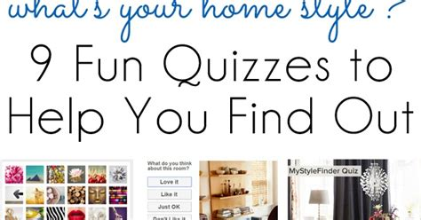 quiz design inspiration style inspiration 9 fun quizzes to find your home design