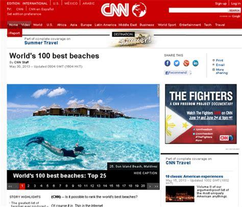 world s 100 best beaches cnn com 世界のベスト ビーチ100 アクセス フィリピン 総合情報リンク集