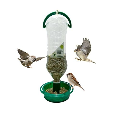 eco friendly soda bottle bird feeder pet nest
