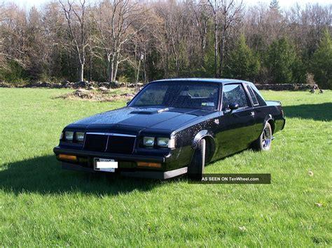 turbo buick grand national 1986 buick grand national turbo
