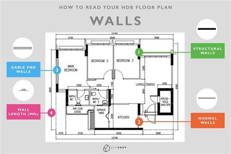 How To Read Your HDB Floor Plan In 10 Seconds   Qanvast