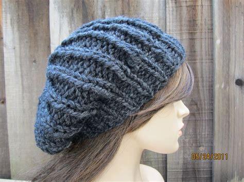 loom knit mens hat basic knitting loom ribbed flat hat free