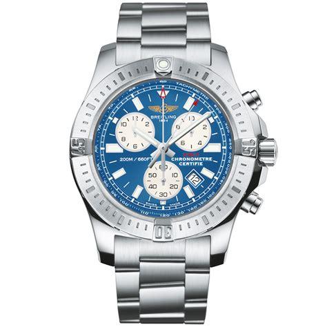 breitling colt chronograph mariner blue s