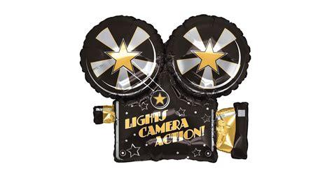 lights camera action salon lights camera action foil balloon birthdayexpress com