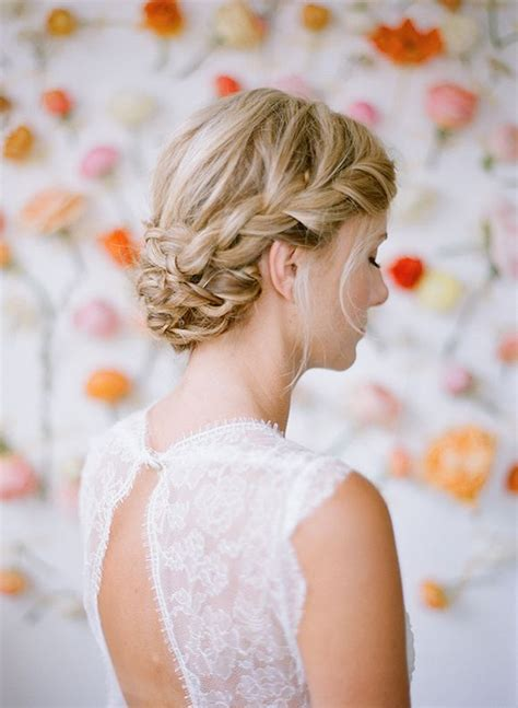 Wedding Hair Plait by Bridal Hair Inspiration Plaits Lavender Lace