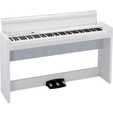 Korg Piano Digital Lp180 Wh White piano numerique meuble korg lp 380 wh paul beuscher