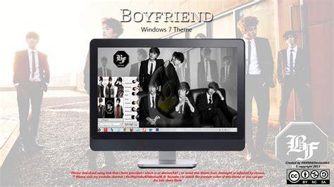 themes kpop for windows 7 2013 theme boyfriend kpop win 7 by hkk98 on deviantart