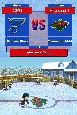 backyard hockey ds backyard hockey sur nintendo ds jeuxvideo com