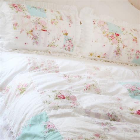 shabby chic white duvet cover shabby chic bedding