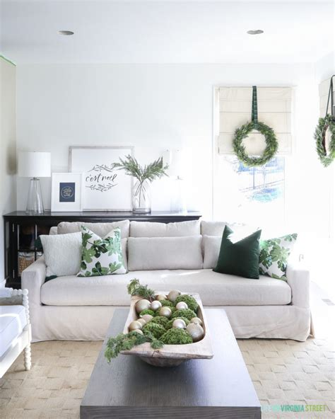 Green And White Living Room by Home Tour Green And White Living Room And
