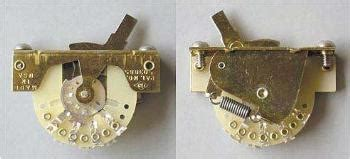the anatomy of the stratocaster 5 way switch