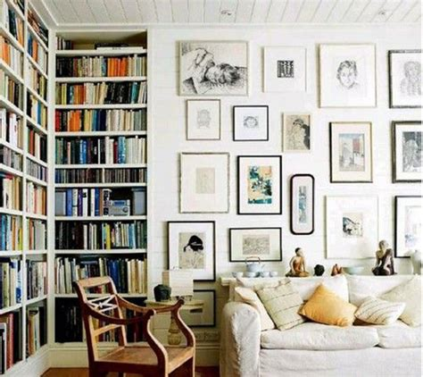 books for home design home library gallery wall