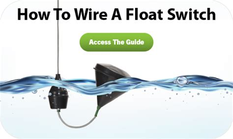 how to configure your float switch normally open switches