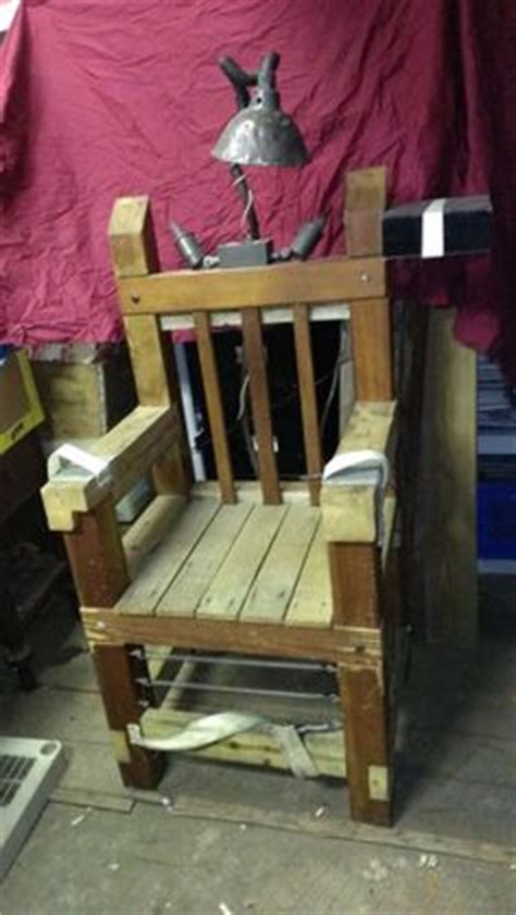 Real Electric Chair Electric Chair Yes I Ve Actually Sat In A Real Electric