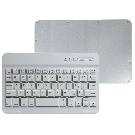 Keyboard Bluetooth Android Ios Pc Ultra Slim Murah ultra slim bluetooth keyboard for ios android windows pc white lazada singapore
