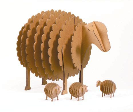 cardboard sheep template 361 best laser cut animals images on laser