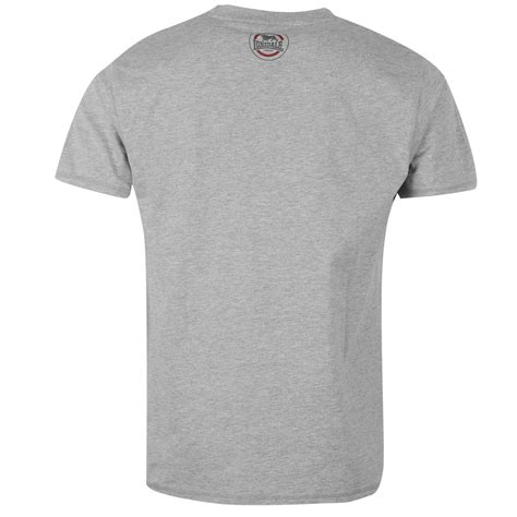 lonsdale mens box t shirt sleeve neck casual